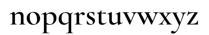 Cormorant SemiBold Font LOWERCASE