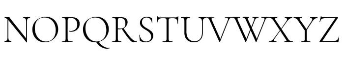 Cormorant Unicase Light Font UPPERCASE
