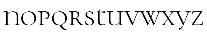 Cormorant Unicase Light Font LOWERCASE