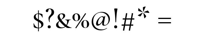 Cormorant Unicase Medium Font OTHER CHARS