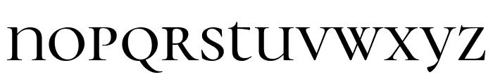 Cormorant Unicase Medium Font LOWERCASE