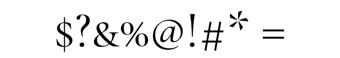 Cormorant Unicase Regular Font OTHER CHARS