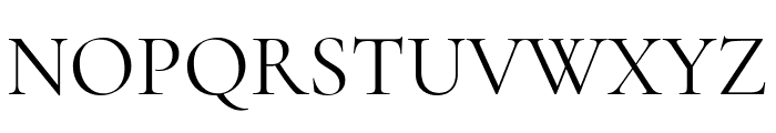 Cormorant Unicase Regular Font UPPERCASE