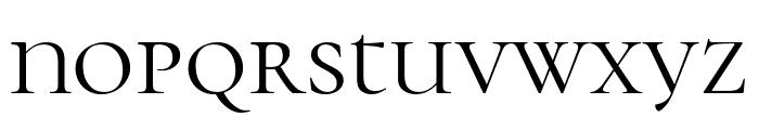 Cormorant Unicase Regular Font LOWERCASE
