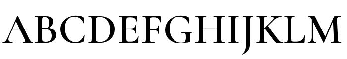 Cormorant Unicase Semi Font UPPERCASE