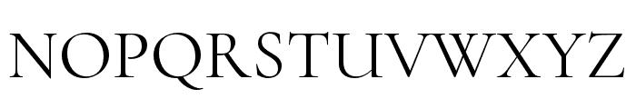 Cormorant Unicase Font UPPERCASE