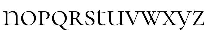 Cormorant Unicase Font LOWERCASE