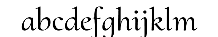 Cormorant Upright Medium Font LOWERCASE