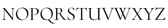 Cormorant Upright Regular Font UPPERCASE