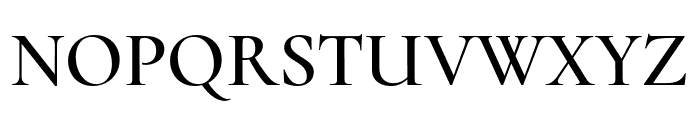 Cormorant Upright SemiBold Font UPPERCASE