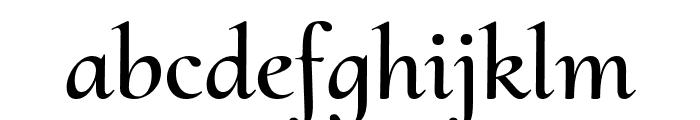 Cormorant Upright SemiBold Font LOWERCASE