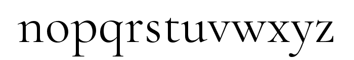 Cormorant Font LOWERCASE