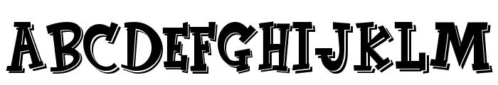 CornFed Font UPPERCASE