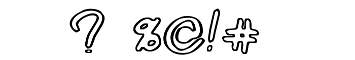 Corner Shop Chic Font OTHER CHARS