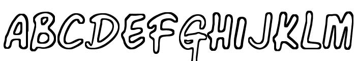 Corner Shop Chic Font UPPERCASE