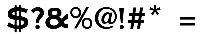 Cornerstone Regular Font OTHER CHARS