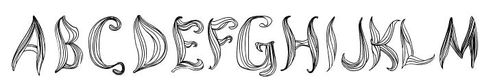 Cornleaves Font UPPERCASE