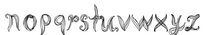 Cornleaves Font LOWERCASE
