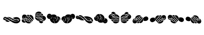 Cornucopia Caligrafica Font UPPERCASE