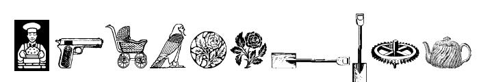Cornucopia od Dingbats Six Font OTHER CHARS