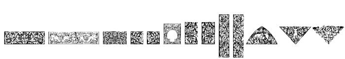 Cornucopia of Dingbats Four Font UPPERCASE