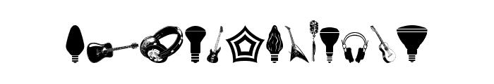Cornucopia of Dingbats Nine Regular Font UPPERCASE