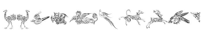 Cornucopia of Dingbats Three Font OTHER CHARS