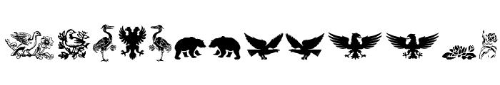 Cornucopia of Dingbats Three Font LOWERCASE