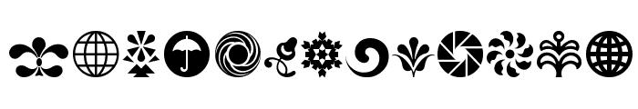 Cornucopia of Ornaments Four Font LOWERCASE