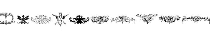Cornucopia of Ornaments Font OTHER CHARS