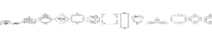 CornucopiaCaligrafica Font LOWERCASE