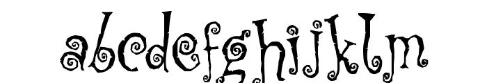 Corps-Script Font LOWERCASE
