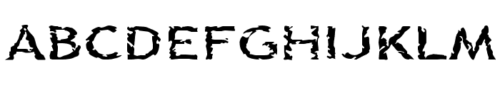 Corpse Font UPPERCASE
