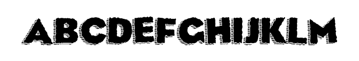 Corpsey Font LOWERCASE
