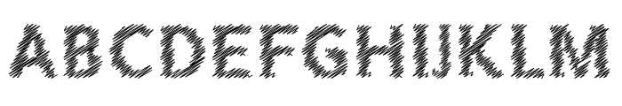 Corret Regular Font UPPERCASE