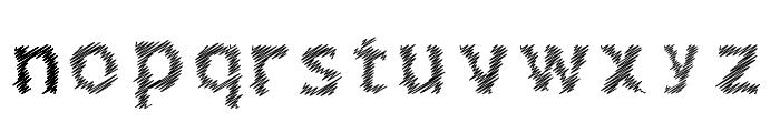 Corret Regular Font LOWERCASE