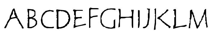 CorrodetClassicaps Font UPPERCASE
