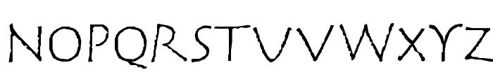 CorrodetClassicaps Font LOWERCASE