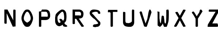 Corrupter Font UPPERCASE