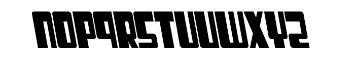 Cosmic Age Bold Italic Font LOWERCASE