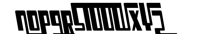 Cosmic Age Italic Font UPPERCASE