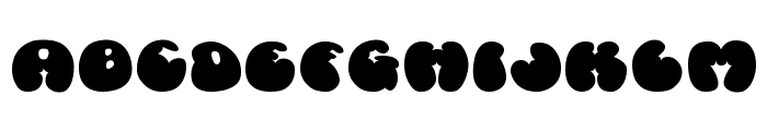 Cosmoscandy Font UPPERCASE