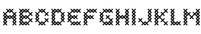 Costura DemiBold Font UPPERCASE