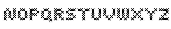 Costura DemiBold Font LOWERCASE