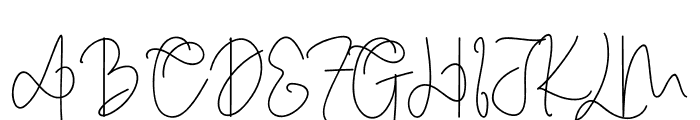 Cothelina Font UPPERCASE