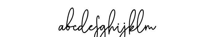 Cothelina Font LOWERCASE