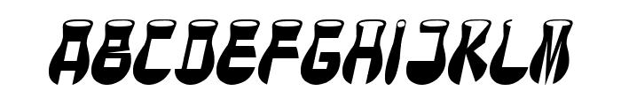 CotoCity Italic Font UPPERCASE