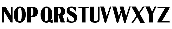 CotrellCFExtraBoldCondensed-Regular Font UPPERCASE