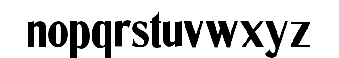 CotrellCFExtraBoldCondensed-Regular Font LOWERCASE