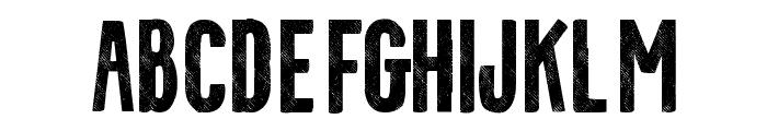 Cotte-VMF Font UPPERCASE